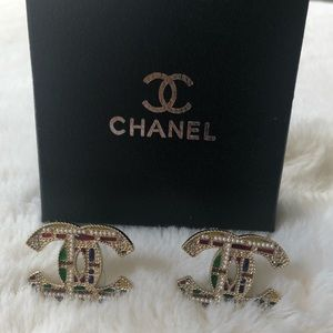Chanel Large Earings
